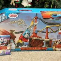 Must Have Gift For Thomas and Friends Fans! Thomas & Friends™ TrackMaster™ Shipwreck Rails Set & DVD!
