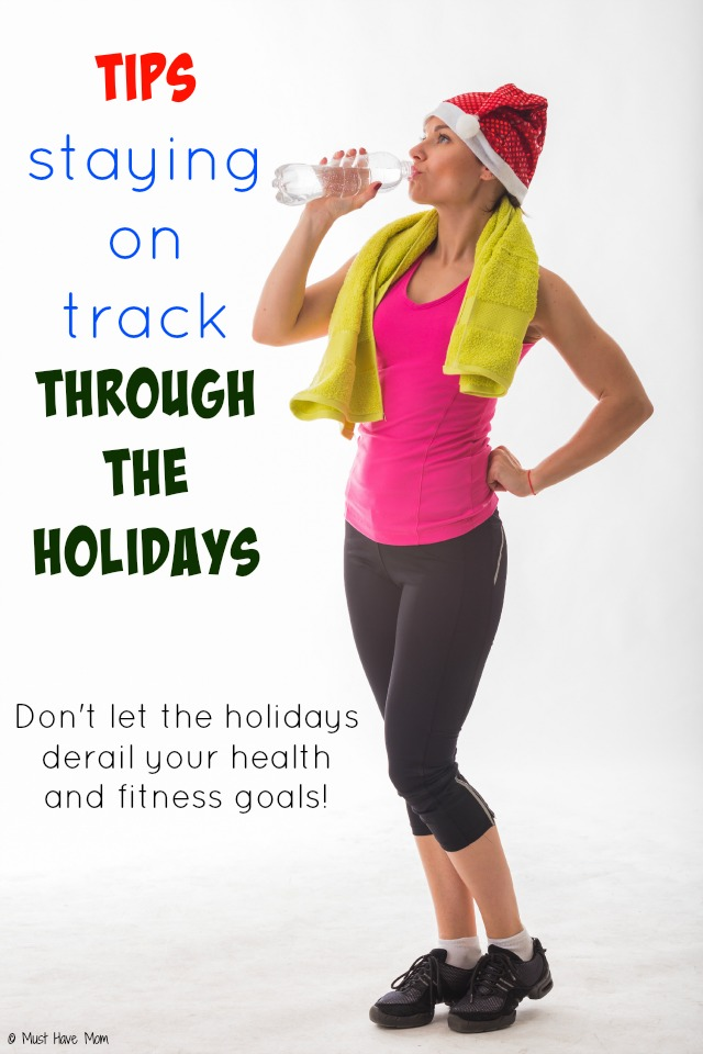 Tips to staying on track through the holidays with your health and fitness goals! Holiday diet tips and winter fitness ideas!