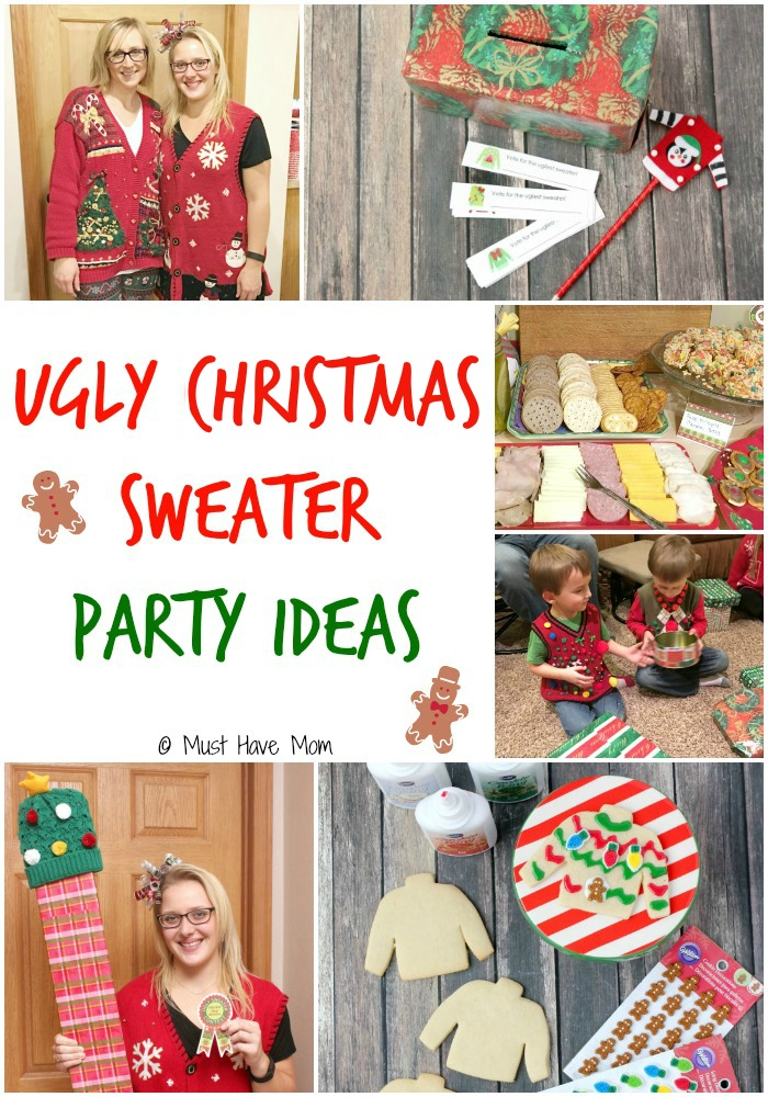 ugliest christmas sweater party ideas