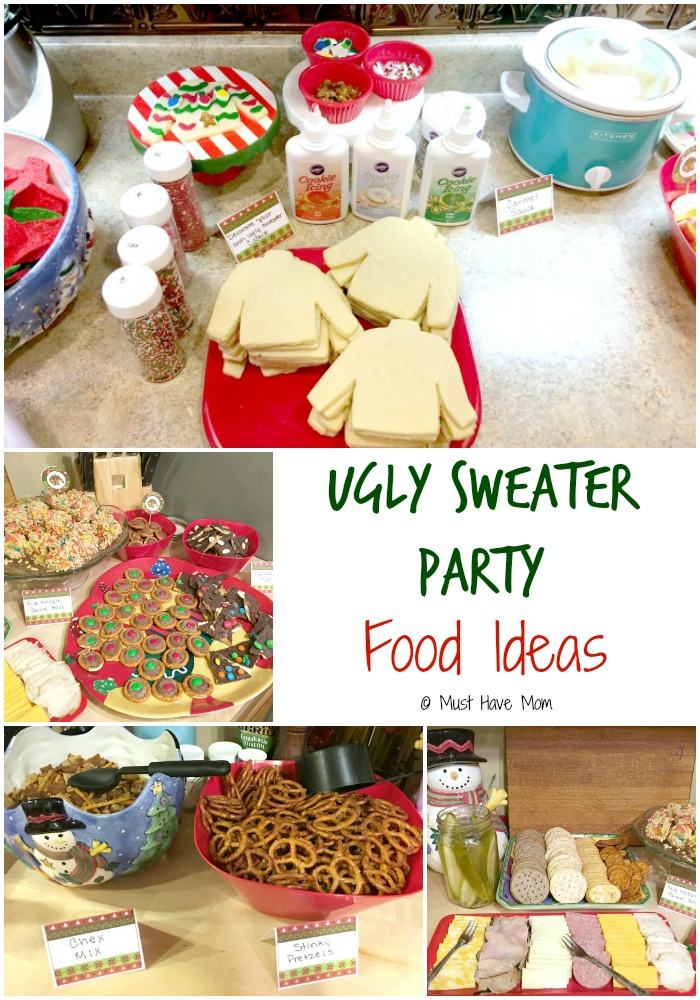Ugly christmas sweaters party ideas