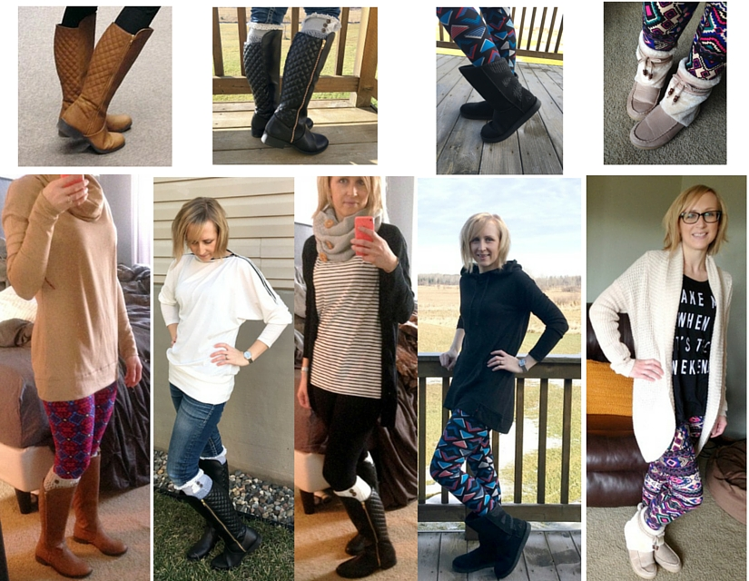 4 boots 5 different ways! Awesome fashion styles without busting the budget! A boot for every occasion!