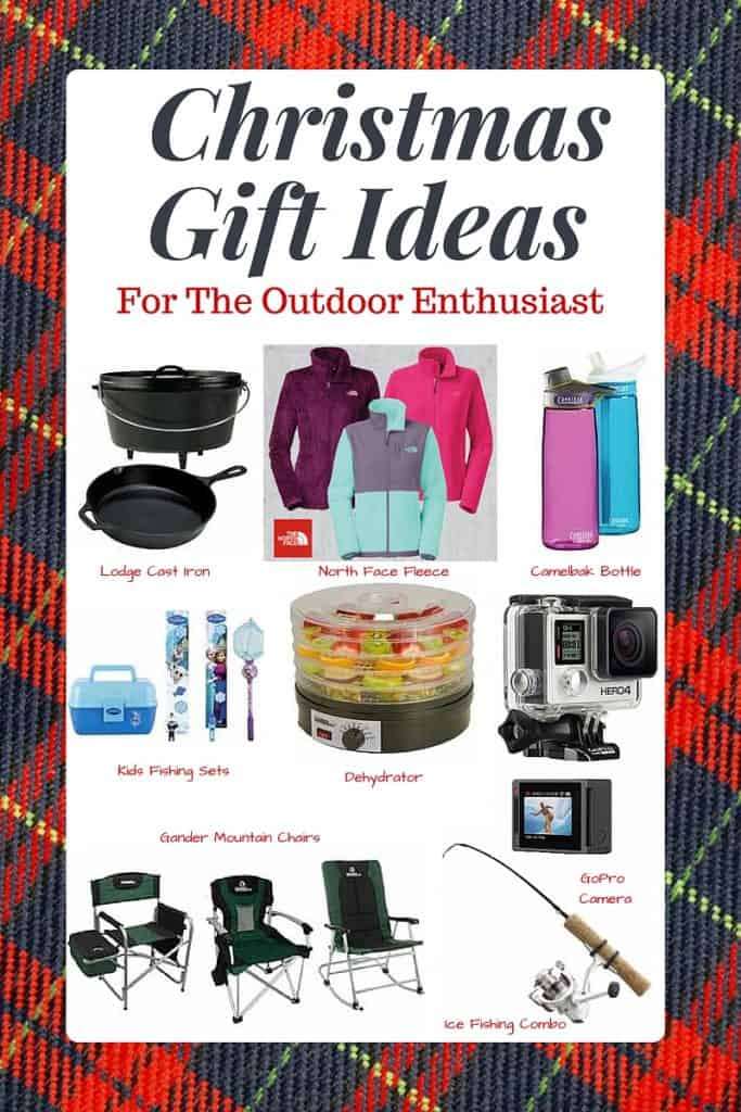 Christmas Gift Ideas For the Outdoor Enthusiast! Great gift ideas for active people who like to hunt, fish, camp or be outside! Plus where to find the best prices on this stuff!