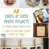 How To Get FREE Photo Prints in 4×6 & 4×4 Sizes + 13 Photo Project Ideas To Make With Your Free Prints!