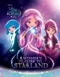 New Disney Star Darlings Book Set for tweens. Where wishes come from! Easy books for tween girls. A Wisher's Guide To Starland