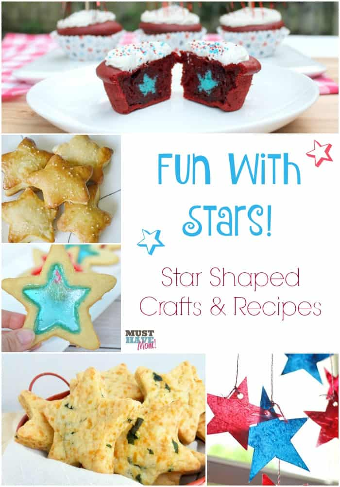 Fun With Stars! Star Shaped Crafts & Recipes for kids!