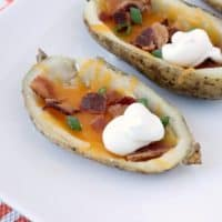Cheddar & Bacon Potato Skins Recipe