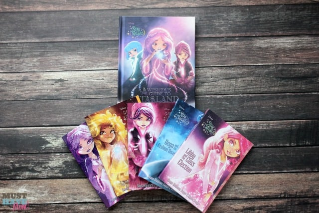 New Disney Star Darlings Book Set for tweens. Where wishes come from! Easy books for tween girls.