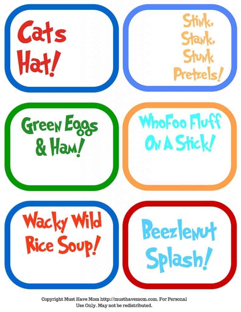 photo relating to Dr Seuss Printable Hat called Free of charge Dr. Seuss Printables Fonts!