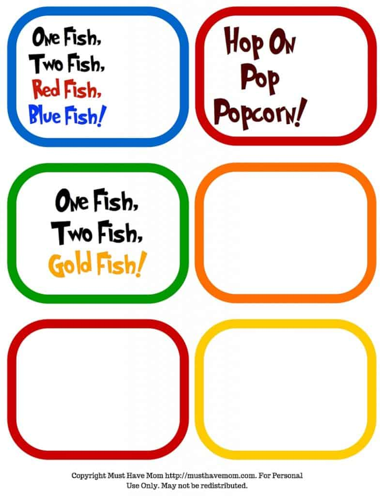 photo about Printable Fonts for Signs named No cost Dr. Seuss Printables Fonts!