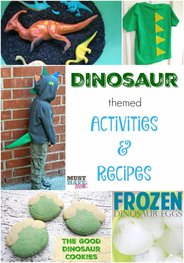 Dinosaur Themed Activities & Recipes to celebrate The Good Dinosaur release!