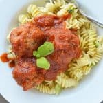 Veggie Meatballs Slow Cooker Recipe {Hide Their Veggies!}