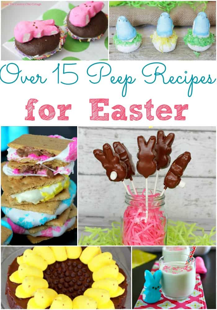 Over 15 Peep Recipes for Easter