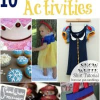 10 Fun Snow White Activities To Celebrate a Snow White Themed Day!