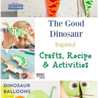 The Good Dinosaur Crafts, Recipe & Activities With Free Printables!