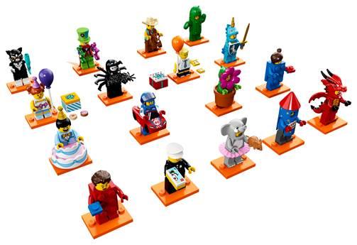 Lego mini figures party series
