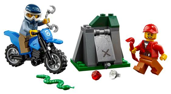 Lego City Off Road Chase Set