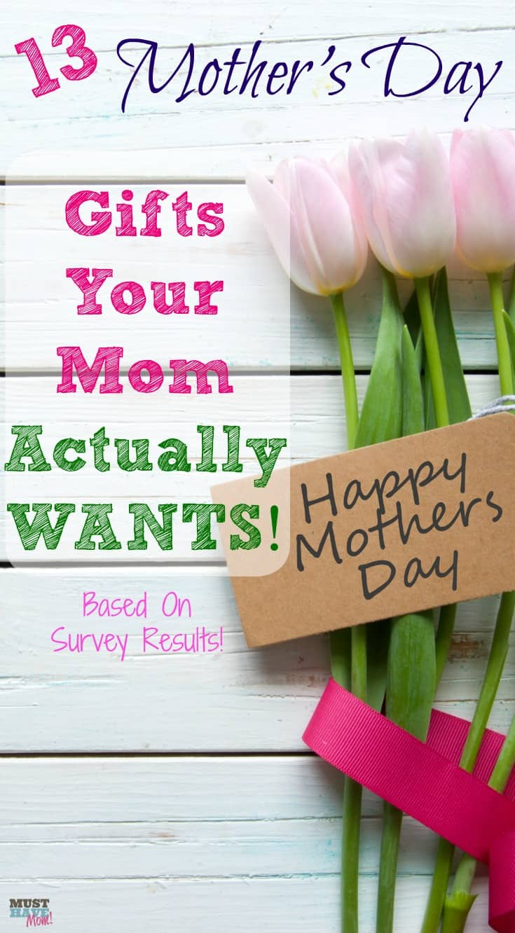 13 Mother's Day Gifts Your Mom Actually WANTS! Mother's Day Gift ideas to get your mom this Mother's Day! Gifts mom will actually use and love!