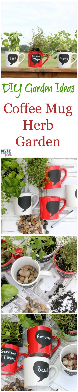 DIY Garden Ideas Coffee Mug