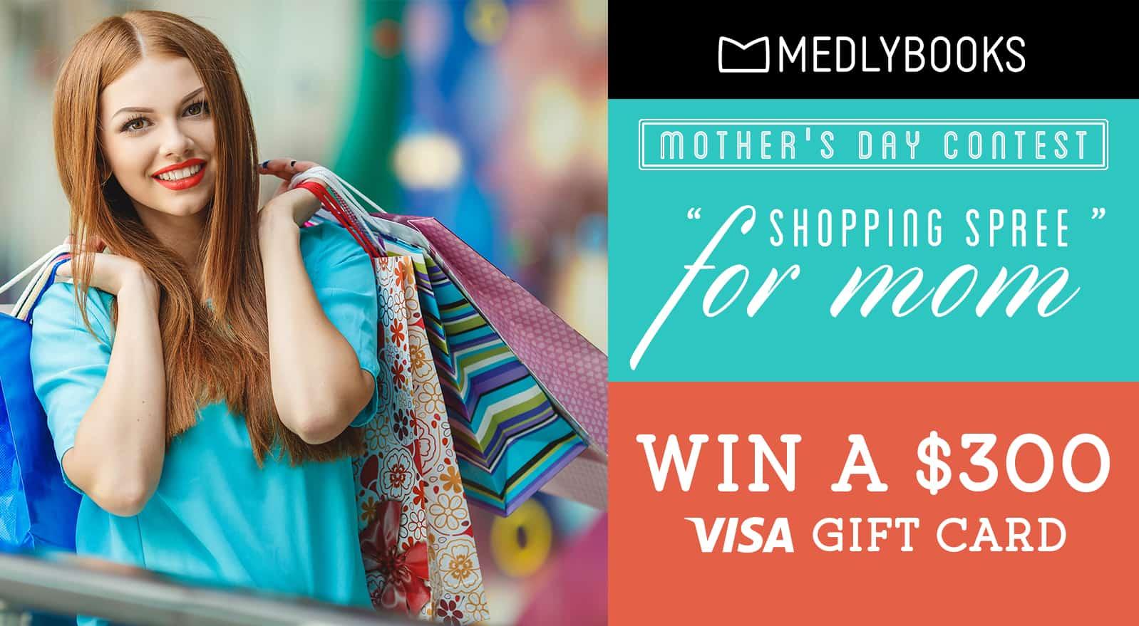 $300 Visa Gift Card giveaway!