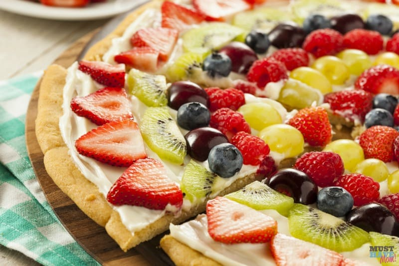 76e79d37dcd8 The Best Fruit Pizza Recipe Made From Scratch! - Must Have Mom