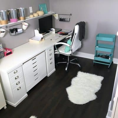 How To Create An Organized Office! Small Touches That Make A BIG Impact
