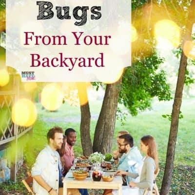 How To Get Rid Of Bugs In Your Backyard & Enjoy Your Backyard BBQ!