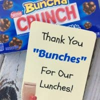 Free School Lunch Hero Day Printable Thank You Cards For Cafeteria Staff!