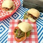 30 Minute Philly Cheesesteak Burger Recipe!