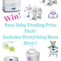 The Best Bottle That Mimics Breastfeeding! + HUGE $200 Giveaway!