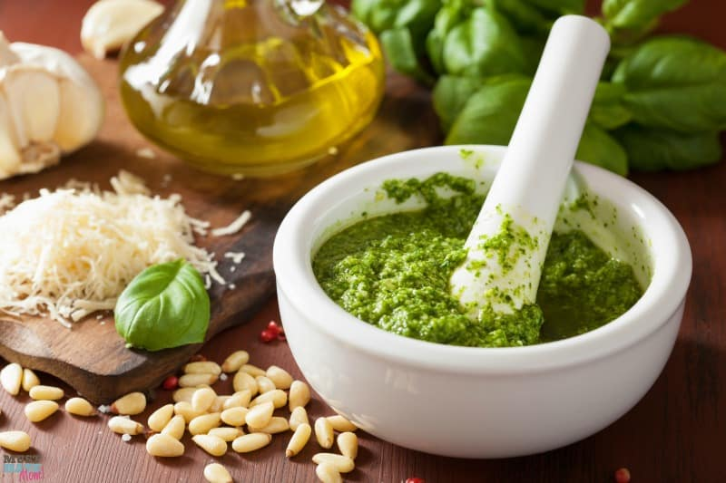 Best EVER Homemade Basil Pesto Recipe - Must Have Mom