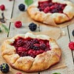 Summer Berry Galette Recipe! Enjoying Farmers Market Recipes With Your Baby!