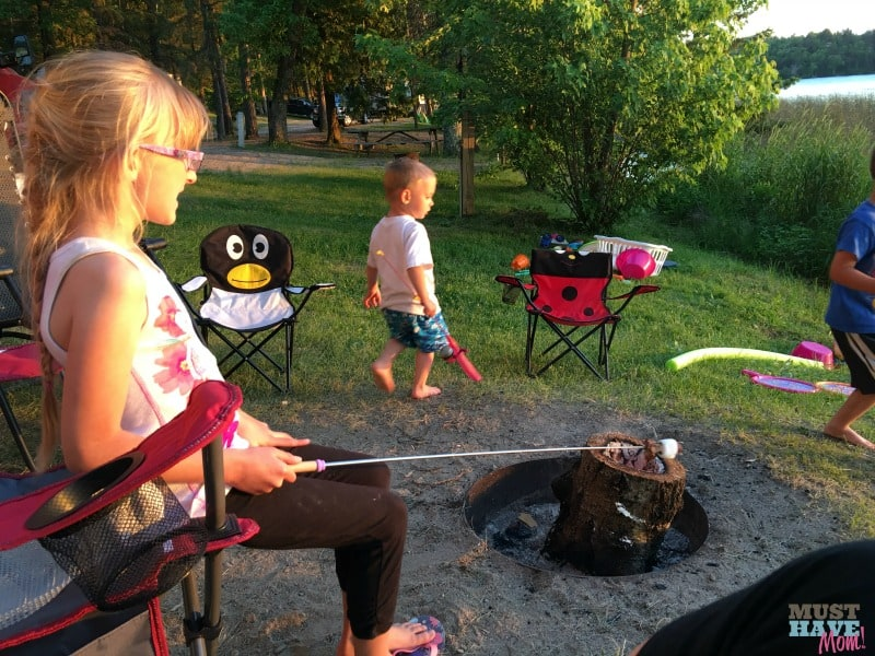 10 Must haves for travel trailer camping with kids. Make sure you have these 10 things on your next camping with kids trip!