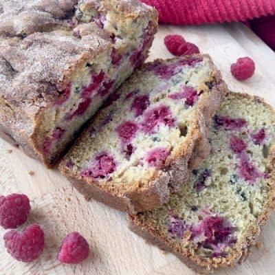 Delicious Summer Raspberry Bread Recipe