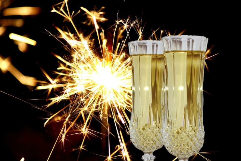 Champagne sparklers