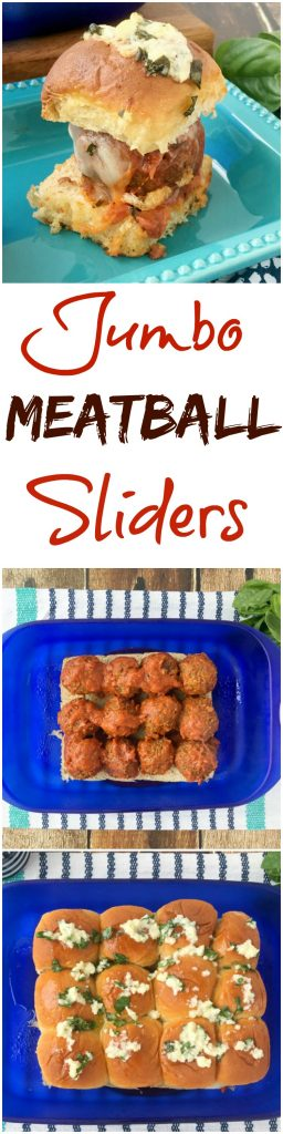 Delicious Parmesan and Garlic Meatball Sliders recipe! Perfect for party food or family dinner recipes. These are quick and easy to make and they taste amazing! Italian dinner recipe without pasta!