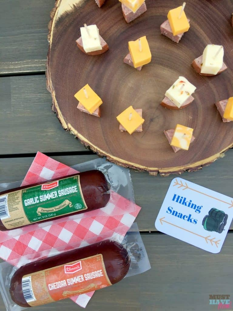 Klement Hiking Snacks Party Food Idea