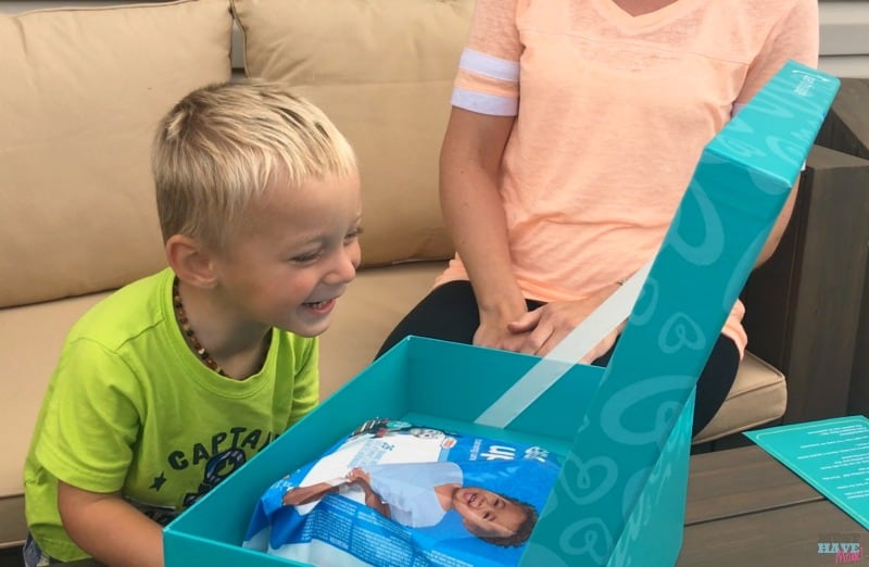 Pampers easy ups unboxing