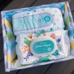 How To Turn a Diaper Box Into A Fabric Covered Basket! No Sew! + ALDI Gets New Affordable Baby Line!