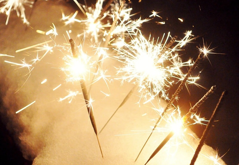 Add color and a dose of excitement to your event with sparkler themes
