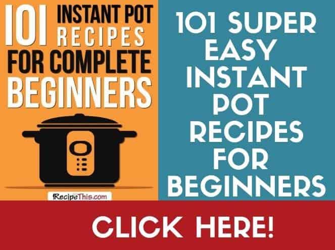beginner instant pot recipes book