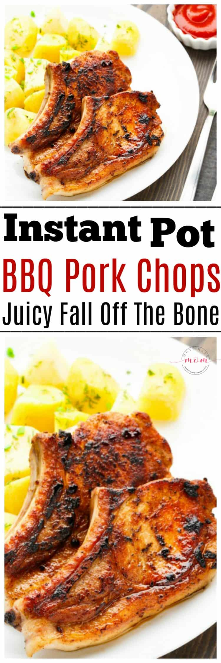 Instant Pot Bbq Pork Chops Recipe Easy And They Fall Off The