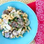 20 Minute Sausage and Pepper Cajun Alfredo Recipe!