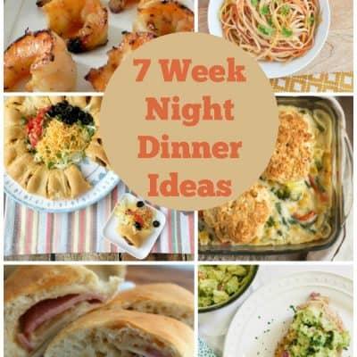 Weekly Meal Plan – Week 2