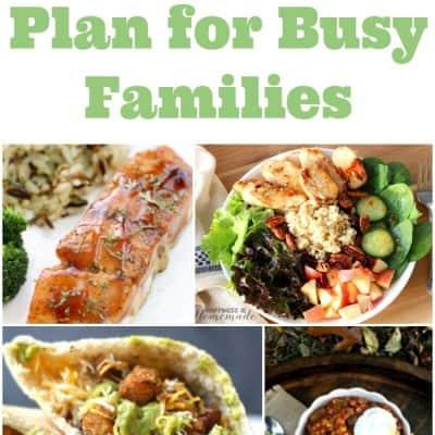 Weekly Meal Plan – Week 5
