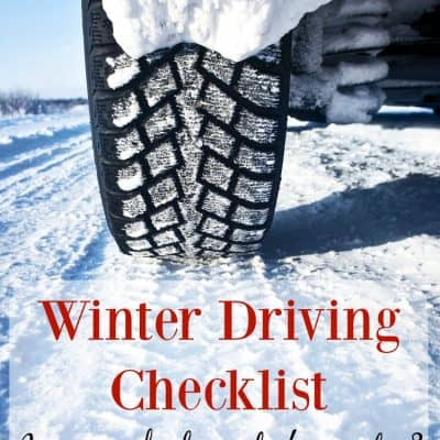 Is Your Vehicle Ready For Winter? Free Winter Vehicle Checklist & Emergency Kit Checklist Printable!