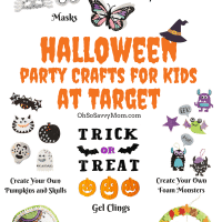 Halloween Party Craft Ideas + $1200 Target Gift Cards Giveaway!!