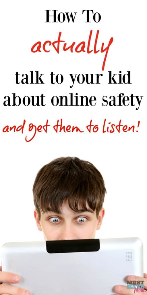 How to talk to your child about internet safety and online dangers and actually get them to listen!