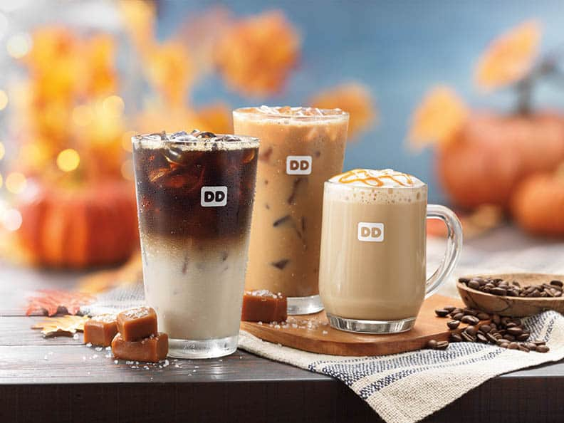 My favorite after dinner treat! The BEST EVER Salted Caramel Latte is here! Perfect easy dessert too!