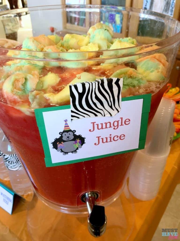 Baby Shower Food Ideas Safari Theme