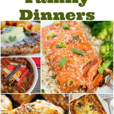 7 Healthy Family Dinners: Weekly Meal Plan – Week 14